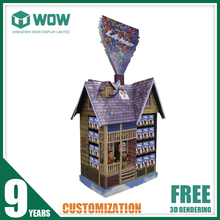 Advertising Cardboard Stands Display for Balloons, Poster Display Stands