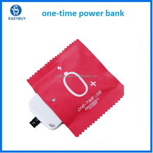 smart wholesale slim one time use mobile portable mini wireless disposable power bank