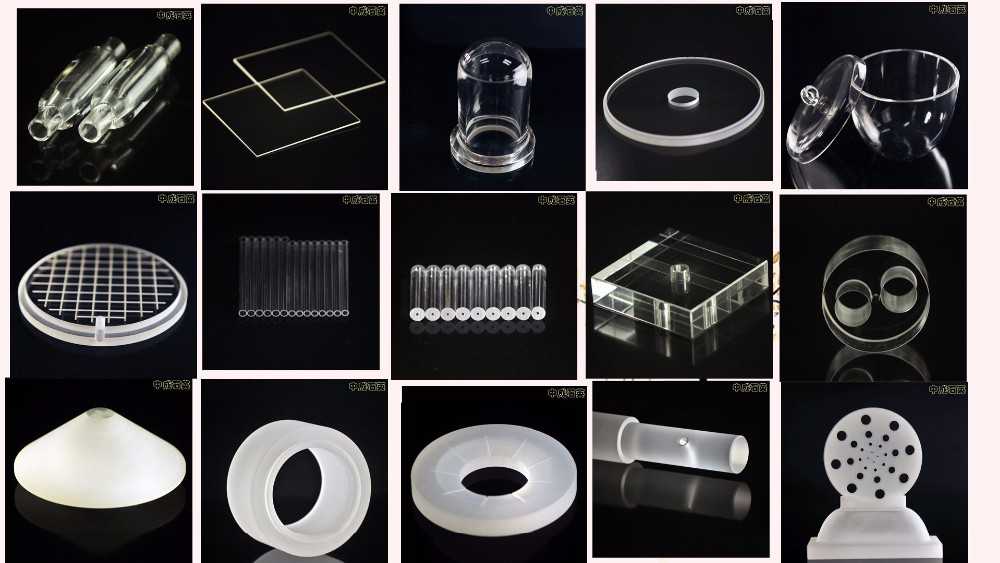 High temperature large Diameter Quartz Glass Tube for Sale