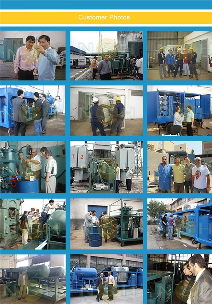 High Precision Vacuum Transformer Oil Filtration System, Oil Filter Machine