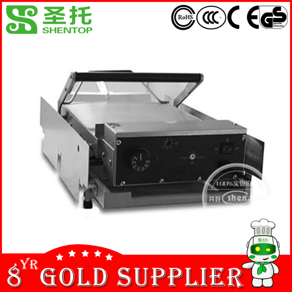 Shentop commercial fast food restaurant equipment hamburger grill machine STPP-BT2 hamburger bun toaster