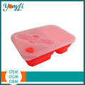 Kitchen Accessory Silicone Foldable Food Container