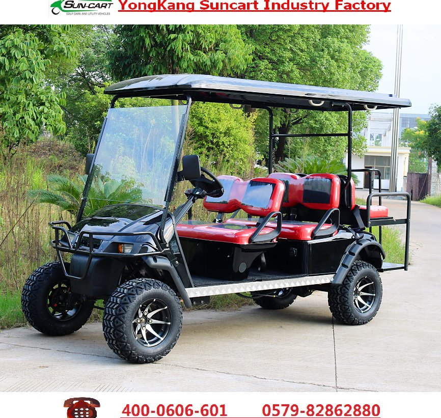 Powerfull RXV EZGO electric 6 passenger golf cart,sightseeing golf cart,cheap golf cart for sale