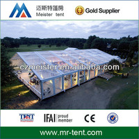 china high quality luxury outdoor transparent wedding party tent for sale