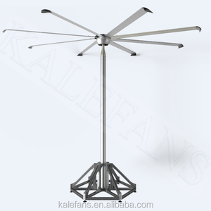 Modern Electricity Power 300W Large DC Motor Industrial Stand Fan
