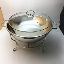 wholesale hotel equipment chafing dish factory price keep food warmer 8.0L buffet chafing dish
