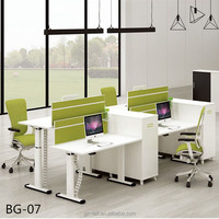 Office desks furniture height adjustable computer tables bulk melamine wood desks