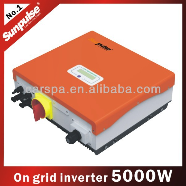 carspa on-grid solar pv power inverter selling electricity to public state 5000w -S5000