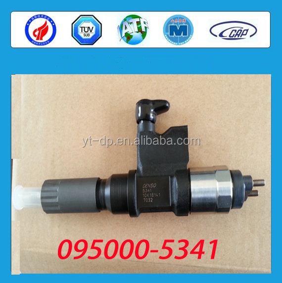 DENSO'S Original Common Rail Injector 095000-5341 For ISUZUES 8-97602485-3 / 8-97602485-2 / 8-97602485-1/ 8-97602485-0