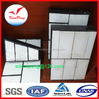 Impact Wear Ceramic Rubber Panel with Bolt Installation (300*300, 500*500mm)