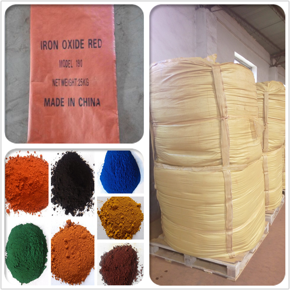 iron oxide red pigment colors for porcelain paint