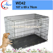 Wire foldable dog cages & pens