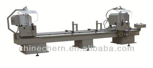 Aluminum Double Head Mitre Saw Cutting Machine for 45 degree