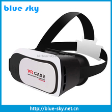 Hot products 3D virtual reality glasses VR box, Google cardboard Version for mobile phone 3d movie glass