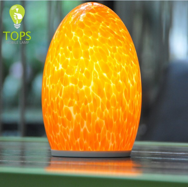 Led light source bluetooth and wifi remote control usb port power outlet battery operated galle glass lamp