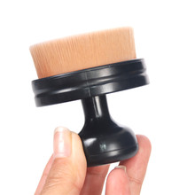 Professional cosmetics tools seal shape makeup foundation and blush brush
