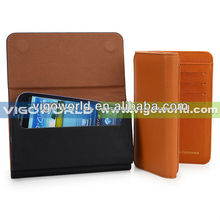 Wallet Leather Purse case for Samsung Galaxy S3,S4