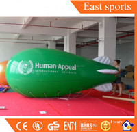 PVC Inflatable Helium Blimps For Advertising