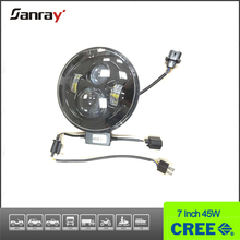2015 New Products Waterproof 7 inch Motorcycle Bullet Led Headlight