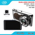 "Private Model Dual Lens Car DVR Novatek 96655 + AR0330 FHD 1080P 4.0"" IPS Screen Night Vision Car Camera ZXS-A8"