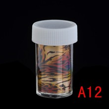 Pinpai brand nail art tip wrap roll foils transfer glitter sticker polish decal decor nail foils