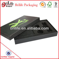 High Quality Fashion Custom Packaging box with styrofoam