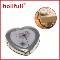 2015 new promotion foldable heart shape purse hook