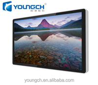 Strong metal casing hard back cover outdoor venues high resolution for retail 22 inch lcd advertising display
