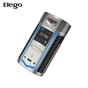2019 New E-Cigarette e cig box mod 217W 7500mAh VOOPOO X217 Box MOD with battery