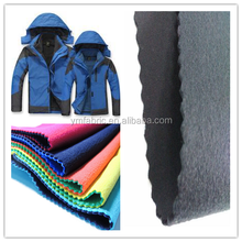 Breathable waterproof warm polar fleece 100% polyester composite softshell fabric for winter jacket