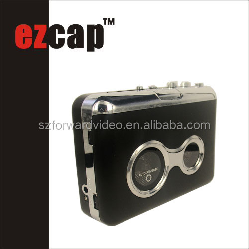 ezcap USB tape recorder walkerman cassette recorder player ezcap218C