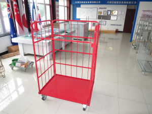 Industrial Steel Folding Wire Rolling Mesh Cage Storage Cage