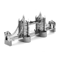 3D Metal classic Tower Bridge of London War AT-AT Walker Star R2D2 TIE Fighter Millennium Falcon Destroyer X Wing robot toy