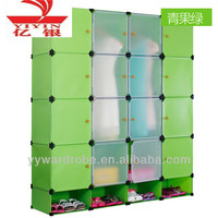 Decorative prefab cubicle wire storage cube