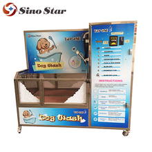 Good quality low price luxury dog washer/ dog washing machine free standing dog bath tub in pet cleaning and grooming XGJ-1