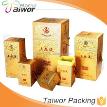 Wholesale Fashion Eco-Friendly Wine Box Sweet White Wine Box