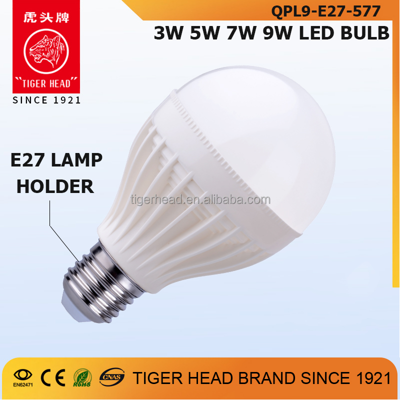 Hot Sale China 3w 5w 7w 9W Led E27 Energy Saving Lamp Led Bulb