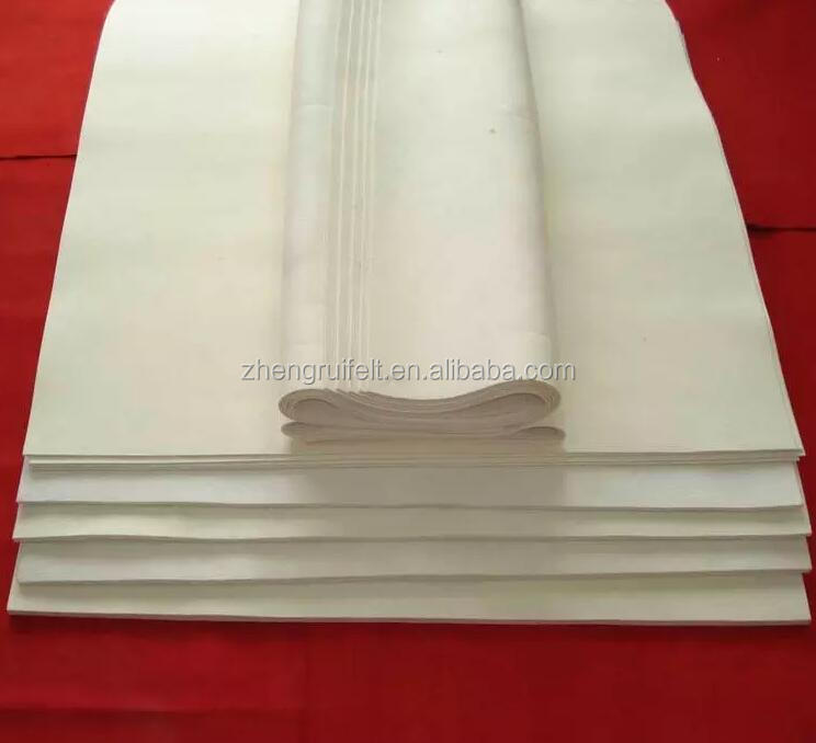 Nonwoven 3mm 5mm 8mm 10mm 20mm Thick Needle Punched 100% wool fabric Felt