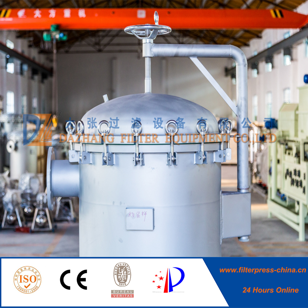 Thermal insulation bag filter for beverage industry
