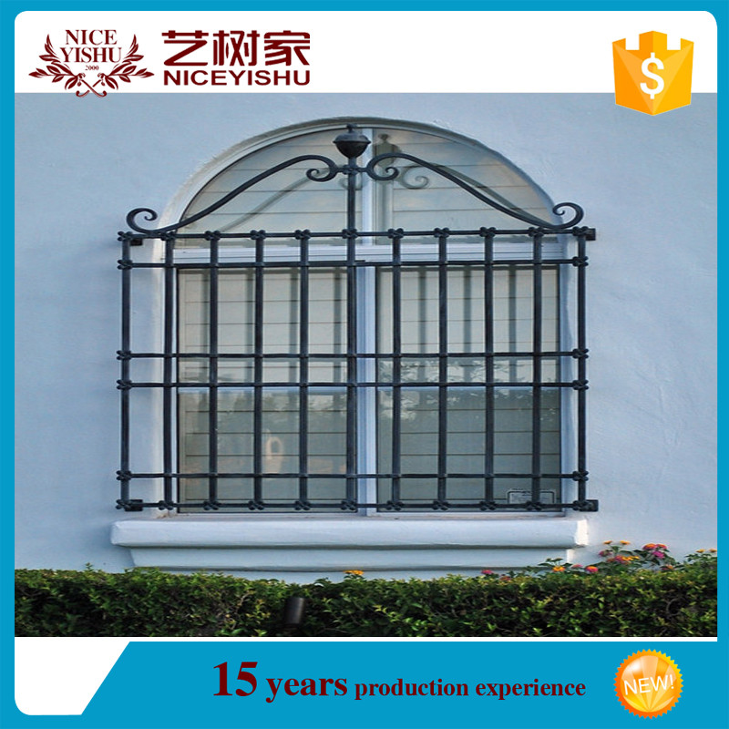 Window grills design for sliding windows safety door for Balcony safety grill designs