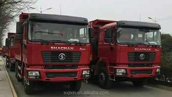 25ton shaanxi MAN F2000 dump truck for sale