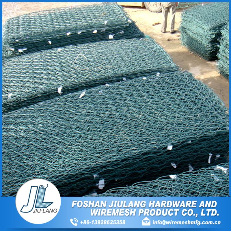 a higher strength pvc coated hexagonal wire netting