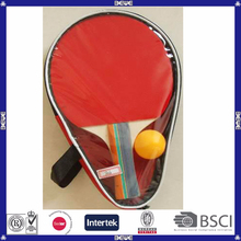 wood material cheap hot sale table tennis racket