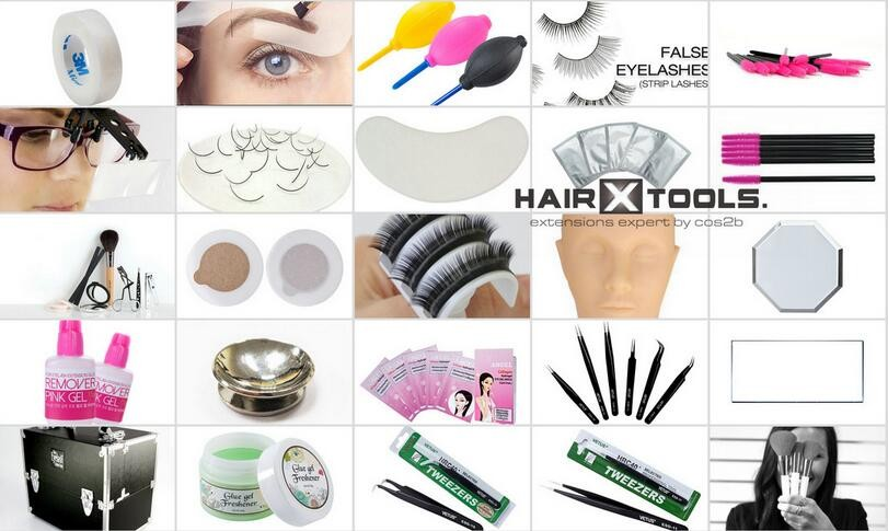 2 in 1 Grafted Planting False Eyelashes Length Distinction Eye Lash Glue Holder Crystal Clear Glass Stand Pad 9.5*4.5*1cm