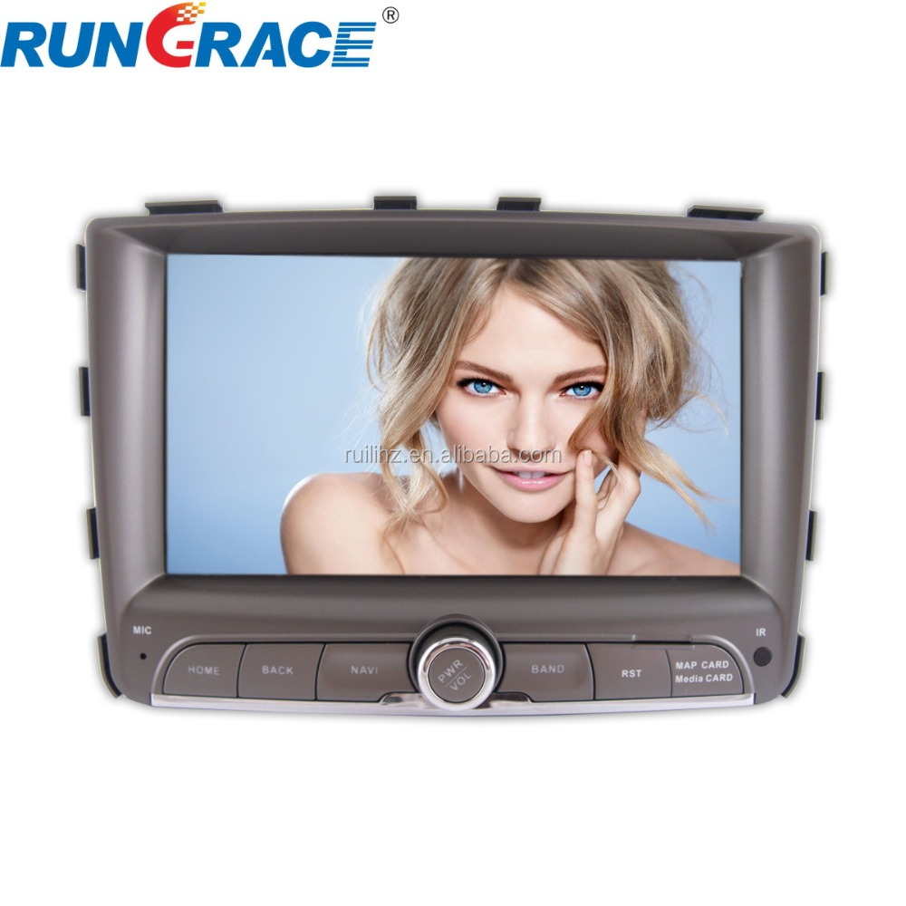 7inch android 4.4 gps navigator to car Ssangyong Rexton <strong>W</strong>