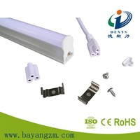 Direct replacement 1200mm led fluorescent light t5 tube milky cover 18w