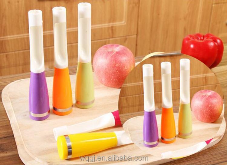 kitchen accessories fruit corer colorful tools plastic