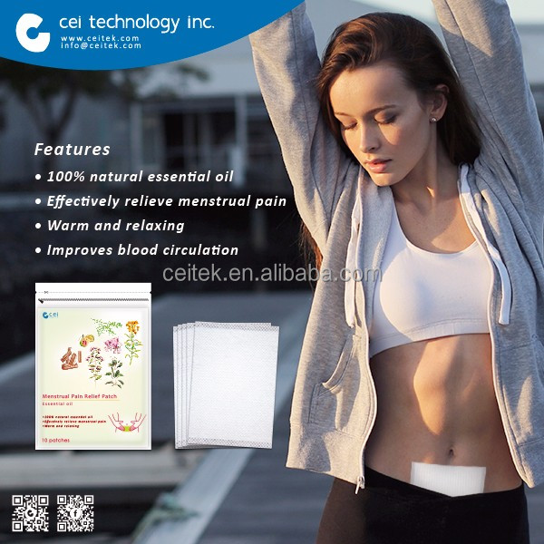 Pain Relief Body Heating Patch for Menstrual