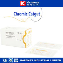 2017 CE/FDA approved training catgut chromic sutures thread with needle