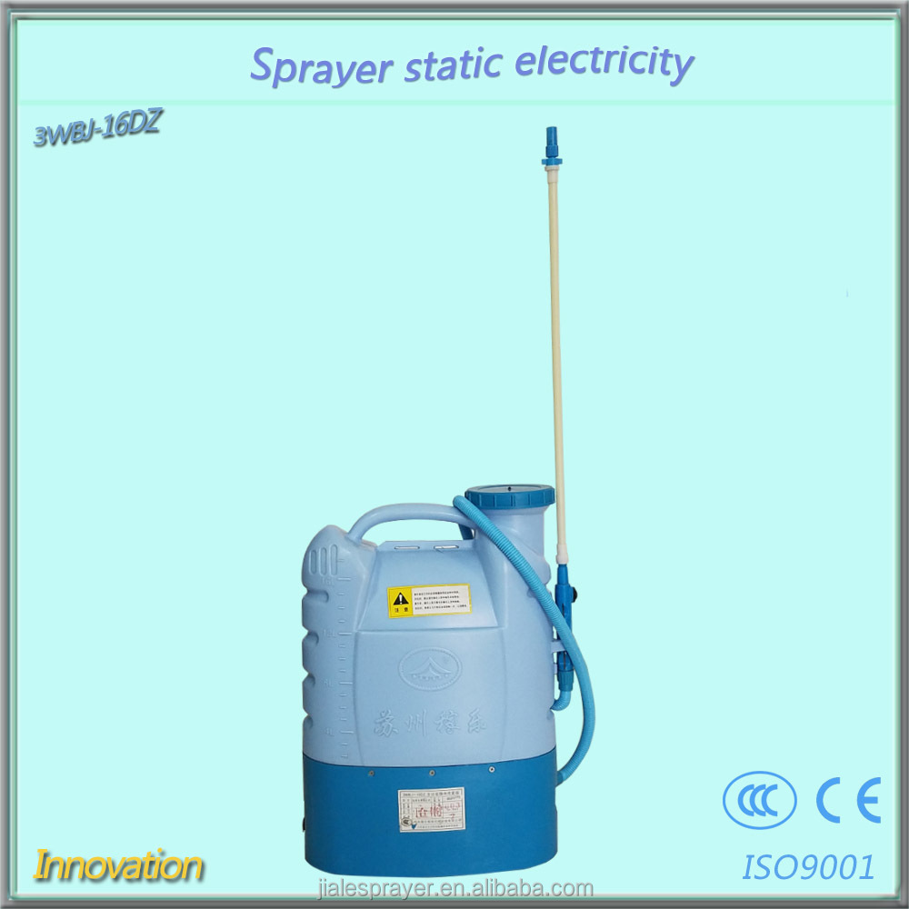 16liters zhejiang factory supplier knapsack parts electrostatic adherence sprayer